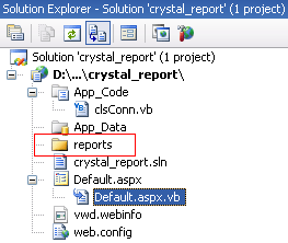 Crystal Report Demo