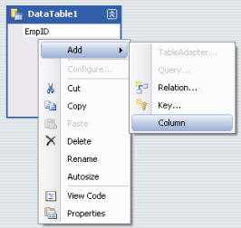 Add Colunms to DataTable in Crystal Report