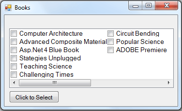 checkedlistbox with multicolumn property