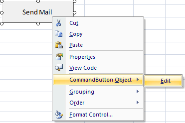 ActiveX Command Button in Excel
