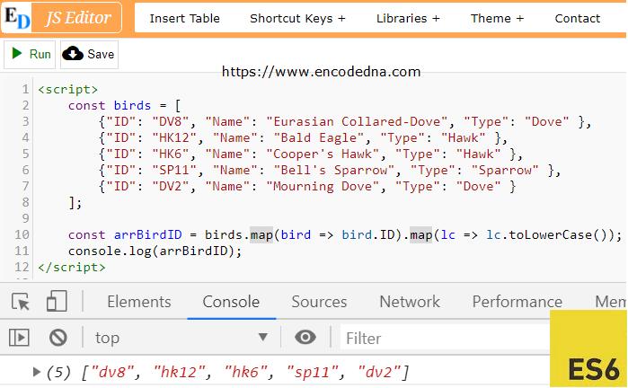 Javascript map foreach key |  map() vs  forEach() vs for ()  2019-06-02