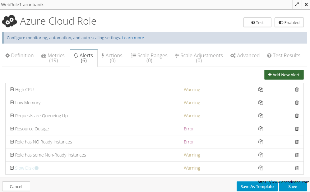 CloudMonix Alert and Notification